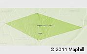 Physical 3D Map of IRQ/SAU Neutral Zone, lighten