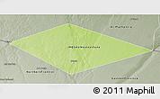 Physical 3D Map of IRQ/SAU Neutral Zone, semi-desaturated