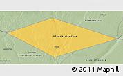 Savanna Style 3D Map of IRQ/SAU Neutral Zone