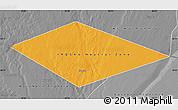Political Map of IRQ/SAU Neutral Zone, desaturated