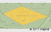 Savanna Style Map of IRQ/SAU Neutral Zone