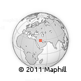 Outline Map of IRQ/SAU Neutral Zone