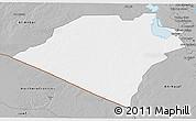 Gray 3D Map of Karbala