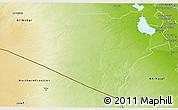 Physical 3D Map of Karbala