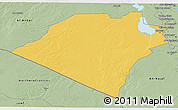 Savanna Style 3D Map of Karbala