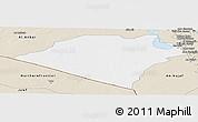 Classic Style Panoramic Map of Karbala