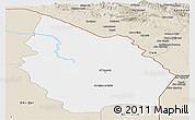 Classic Style Panoramic Map of Misan