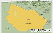 Savanna Style Panoramic Map of Misan