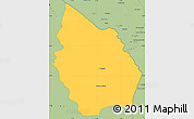 Savanna Style Simple Map of Misan