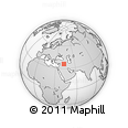Outline Map of Neineva