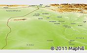 Physical Panoramic Map of Neineva