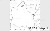 Blank Simple Map of Neineva