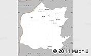 Gray Simple Map of Neineva
