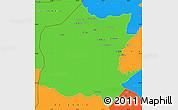 Political Simple Map of Neineva