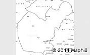 Blank Simple Map of Salahuddin