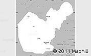Gray Simple Map of Salahuddin