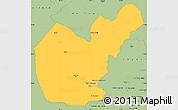 Savanna Style Simple Map of Salahuddin