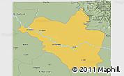 Savanna Style 3D Map of Wasit