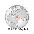 Outline Map of Wasit