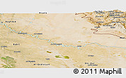 Satellite Panoramic Map of Wasit