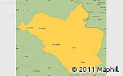 Savanna Style Simple Map of Wasit