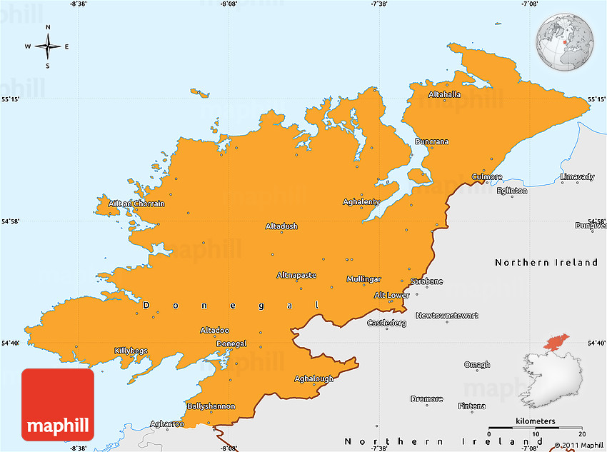 donegal singles County donegal (/ ˈ d ʌ n ɪ ɡ ɔː l, ˌ d ʌ n ɪ ˈ ɡ ɔː l / irish: contae dhún na ngall) is a county of ireland in the province of ulster it is named after the town of donegal (irish: dún na ngall, meaning fort of the foreigners) in the south of the county donegal county council is the local council and lifford the county town.