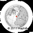 Outline Map of Dublin