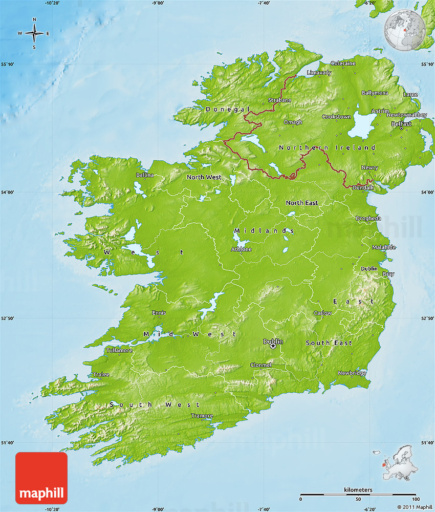Physical map of ireland gumiabroncs Image collections
