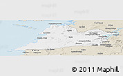 Classic Style Panoramic Map of Clare