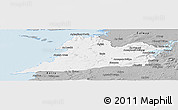 Gray Panoramic Map of Clare