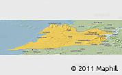 Savanna Style Panoramic Map of Clare