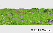 Satellite Panoramic Map of Limerick