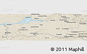 Shaded Relief Panoramic Map of Limerick