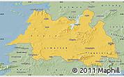 Savanna Style Map of Mid West