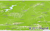 Physical Panoramic Map of Tipperary