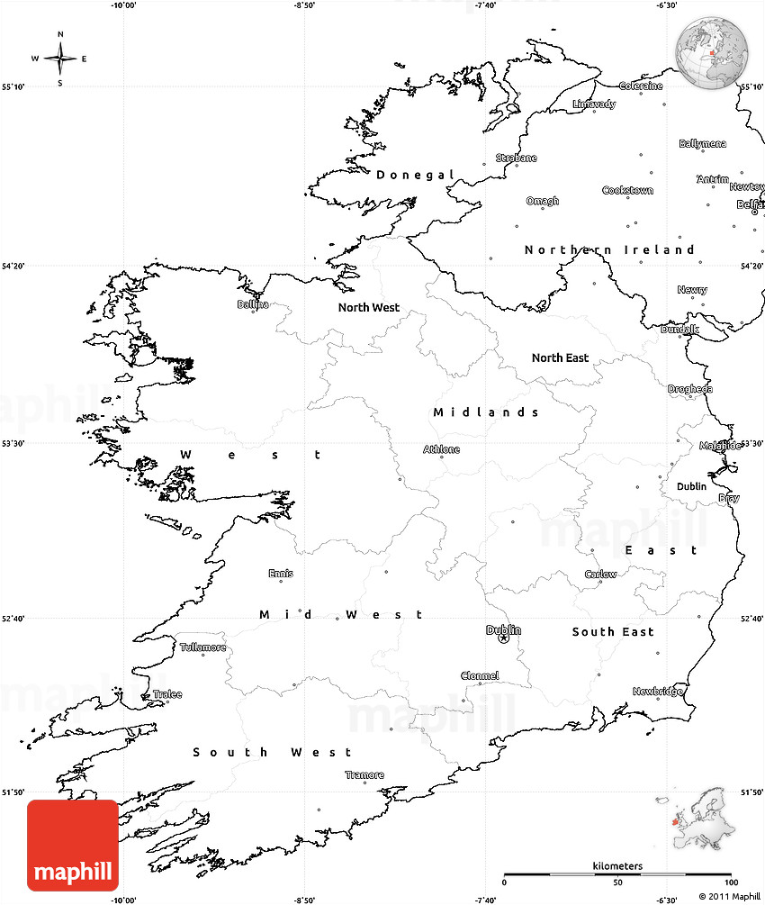 Blank Simple Map of Ireland on printable map of ohio cities, printable map of texas cities, printable map of california cities, map ireland towns and cities, road map of iceland with cities, printable map of the oregon coast cities, printable map of michigan cities, printable map of florida cities,