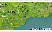 Satellite Map of Waterford