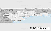 Gray Panoramic Map of Waterford