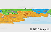 Political Panoramic Map of Waterford