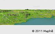 Satellite Panoramic Map of Waterford