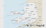 Classic Style 3D Map of Kerry