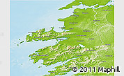 Physical 3D Map of Kerry