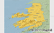 Savanna Style 3D Map of Kerry