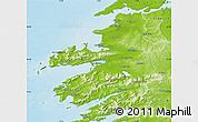 Physical Map of Kerry