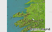 Satellite Map of Kerry