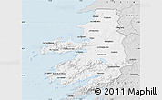Silver Style Map of Kerry