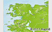 Physical 3D Map of Mayo