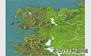 Satellite 3D Map of Mayo