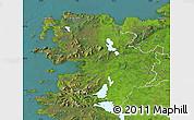 Satellite Map of Mayo