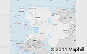 Silver Style Map of Mayo